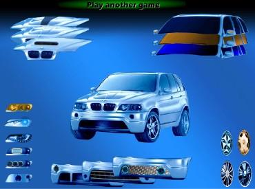 Флеш игра Прокачай BMW X5