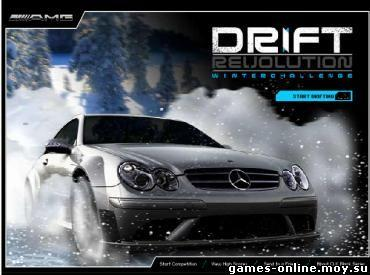 Флеш игра Drift Revolution