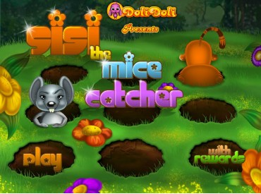 Флеш игра Sisi The Mice Catcher