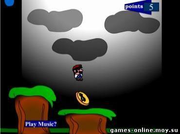 Флеш игра Mario