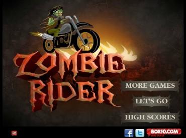 Флеш игра Zombie Rider