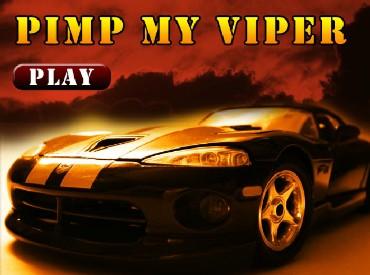 Флеш игра Pimp my Viper