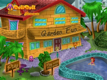 Флеш игра Веселый сад