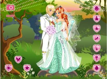 Флеш игра Свадьба эльфов