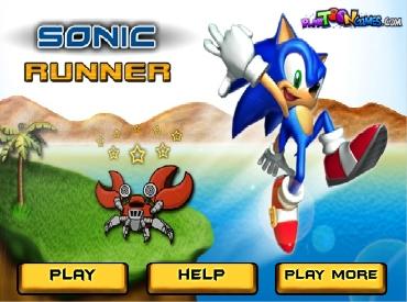Флеш игра Sonic Runner