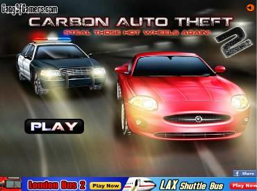 Флеш игра Угон автомобиля 2