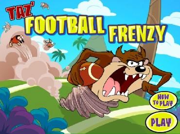 Флеш игра Тэз безумный футболист