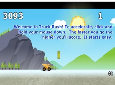 Флеш игра Truck Rush
