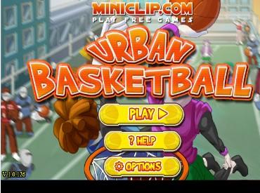 Флеш игра Городской баскетбол