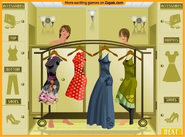 Флеш игра Королева моды