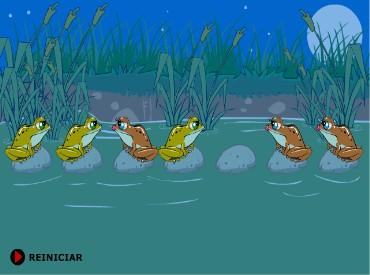 Флеш игра Лягушки