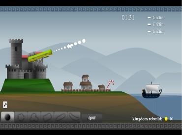 Флеш игра Замок из песка - Древнее вторжение