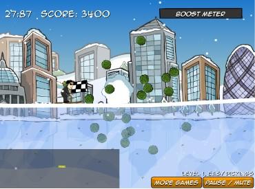 Флеш игра Лыжные маньяки
