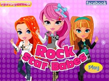 Флеш игра Малышки рок-звезды