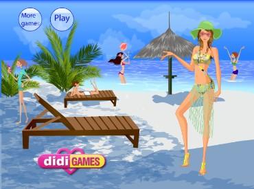 Флеш игра Тропическая красотка