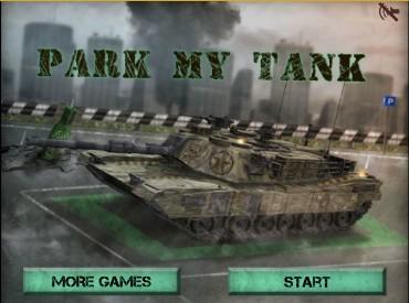 Флеш игра Припаркуйте Танк