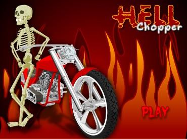 Флеш игра Hell Chopper