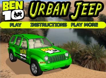 Флеш игра Бен 10: Городской Джип