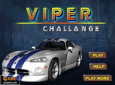 Флеш игра Dodge Viper