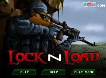 Флеш игра Lock n Load