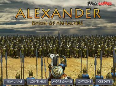 Флеш игра Александр: Рассвет Империи