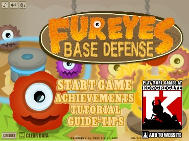 Флеш игра Fureyes Base Defense