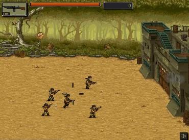 Флеш игра Оборона в Джунглях