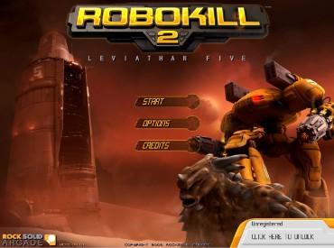 Флеш игра Robokill 2