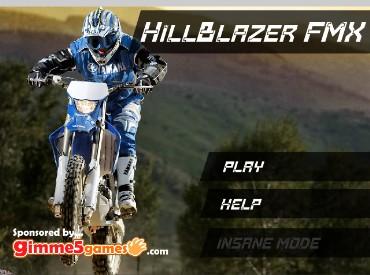 Флеш игра Hillblazer FMX