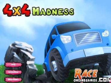 Флеш игра 4x4 Madness