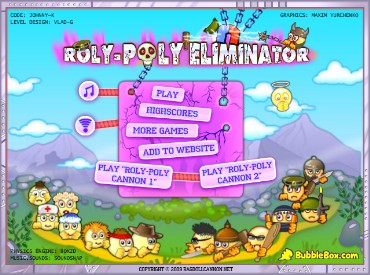 Флеш игра Roly-Poly Eliminator