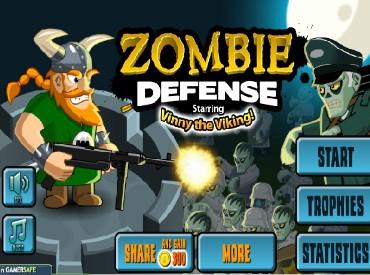 Флеш игра Защита от Зомби