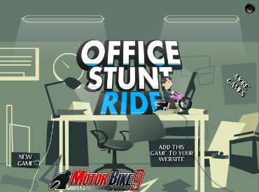 Флеш игра Office Stunt Ride