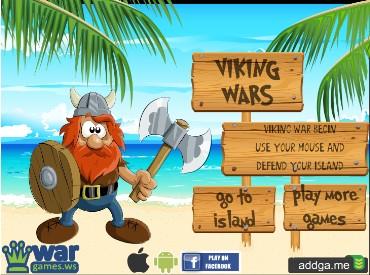 Флеш игра Викинг войны