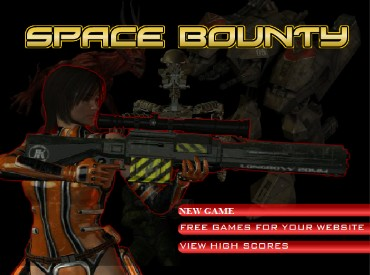 Флеш игра Космический бой