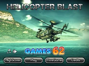 Флеш игра Взрыв вертолета