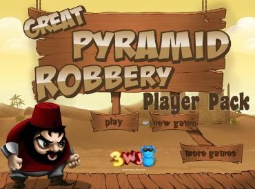 Флеш игра Грабеж большой пирамиды