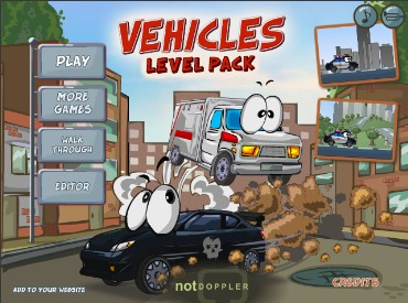Флеш игра Vehicles Level Pack
