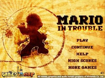 Флеш игра Марио в Беде