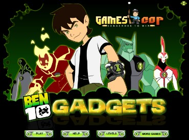 Флеш игра Ben 10 Gadgets
