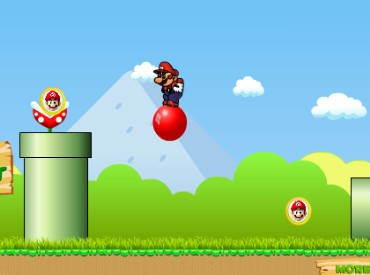 Флеш игра Прыгающий Марио