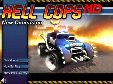 Флеш игра Адский полицейский - новое измерение