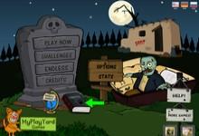 Флеш игра Голодные Зомби
