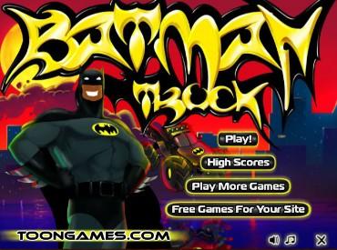 Флеш игра Грузовик Бэтмена