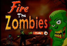 Флеш игра Замочи зомби