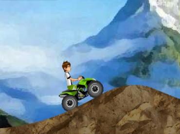 Флеш игра Бен 10 в горах