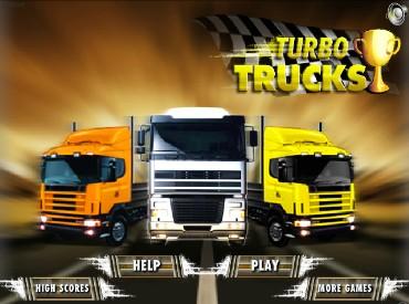 Флеш игра турбо грузовики