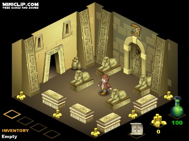 Флеш игра The Pharaoh's Tomb