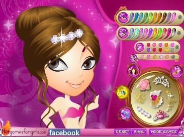 Флеш игра Красота принцессы Люсии