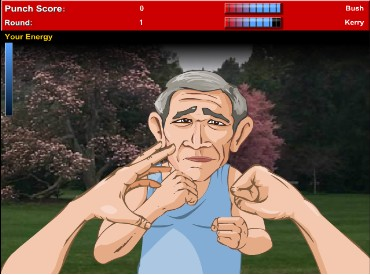 Флеш игра Буш против Керри